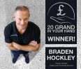 Hard working plumber lands the big money prize