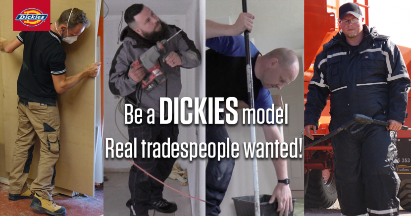 Opportunity to be a workwear model