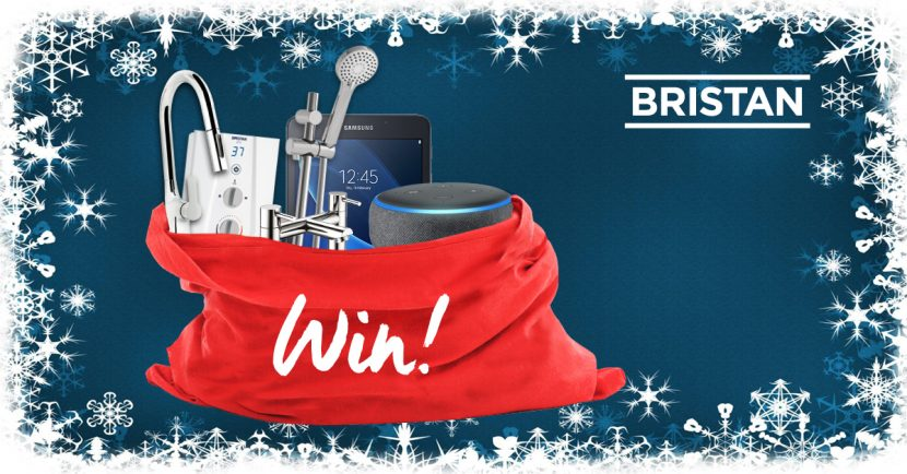 The Bristan gift bag is open for entries