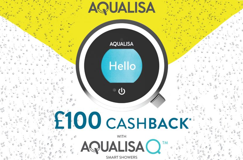Smart shower offers £100 cashback