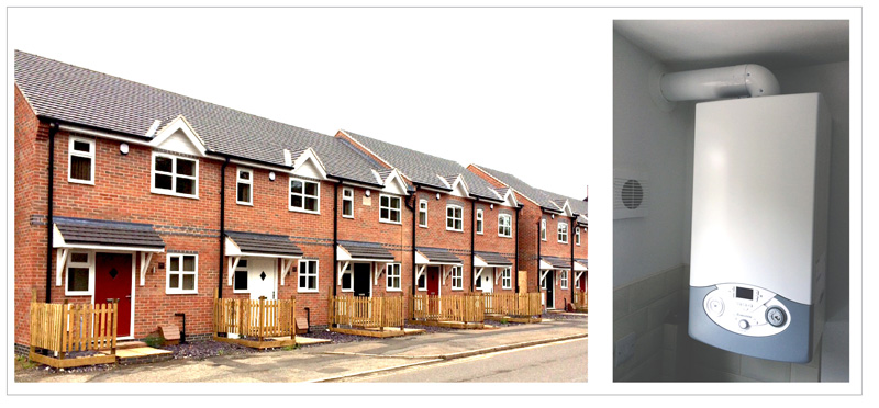Ariston boilers heat up Leicester housing development