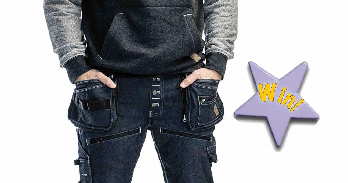 COMPETITON! Win Blåkläder's 1999 Craftsmen Stretch Trousers