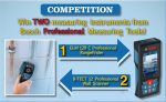 COMPETITION: Win 2 Bosch measuring tools