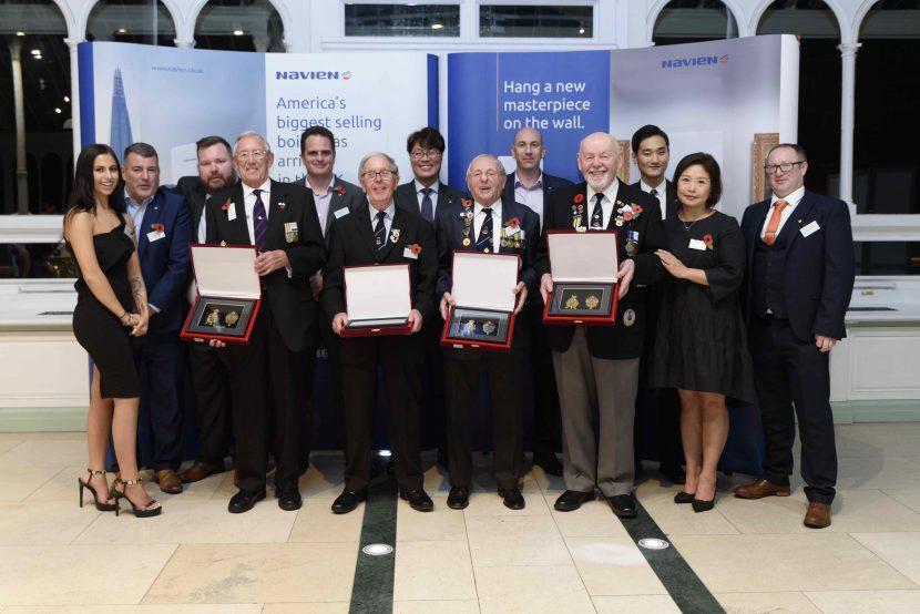 Navien boilers donated to Korean war veterans