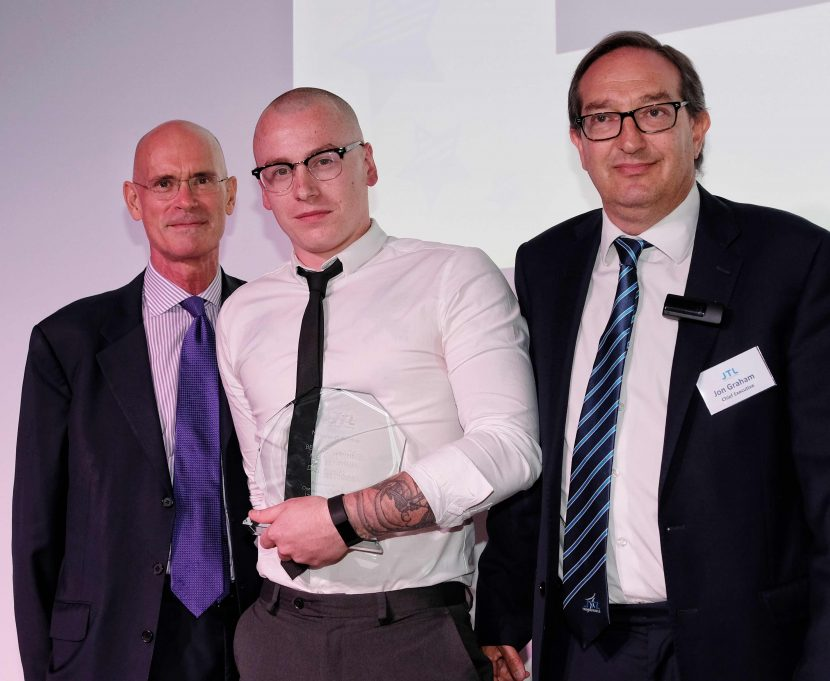 National recognition for work of plumbing apprentice