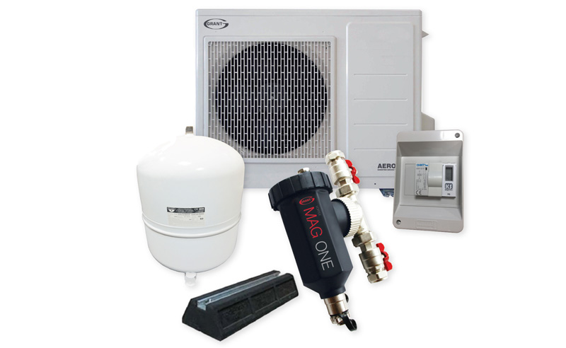Grant UK offers air source heat pump packs