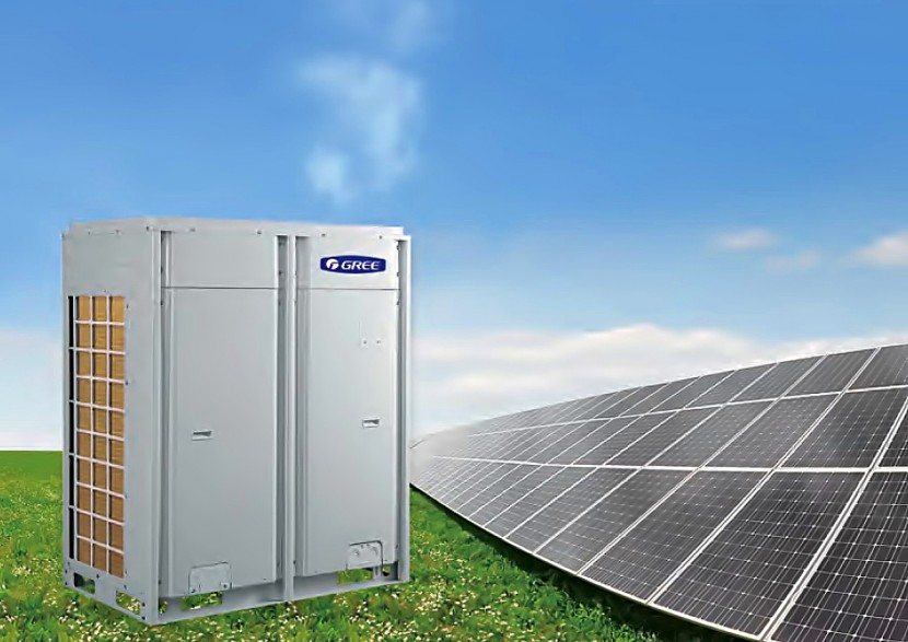 PV powered air conditioning systems