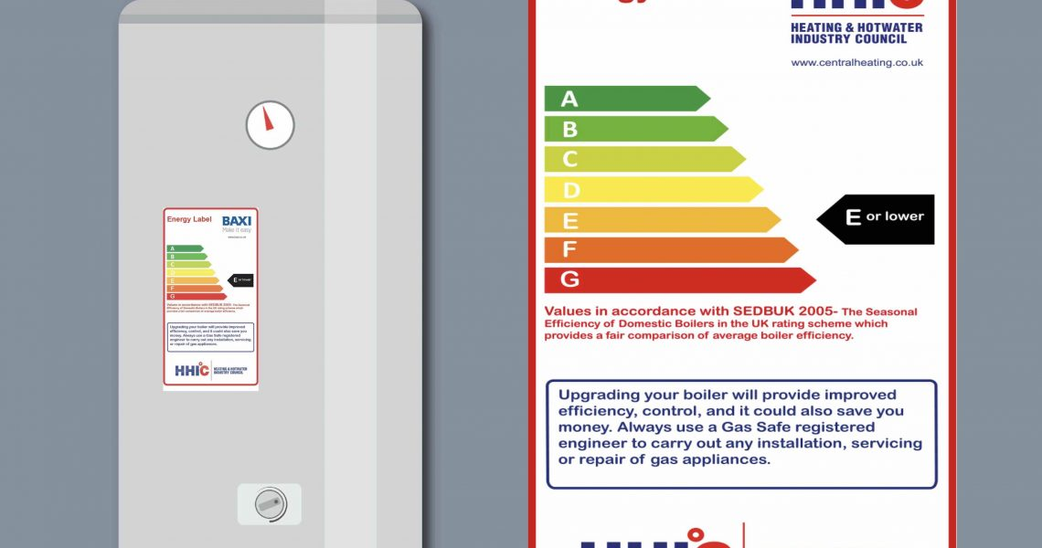New energy labelling scheme for old boilers