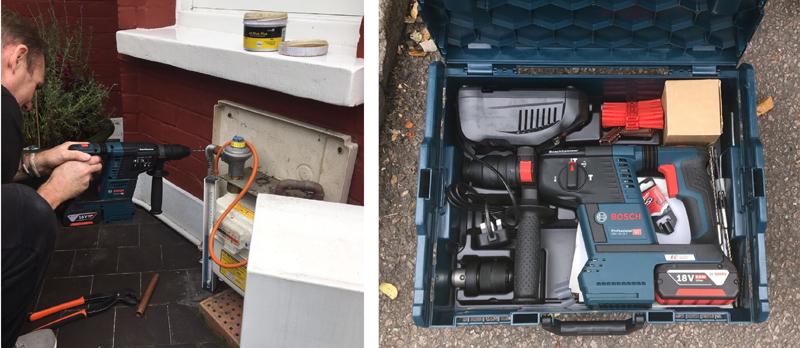 Installer review of the Bosch hammer drill