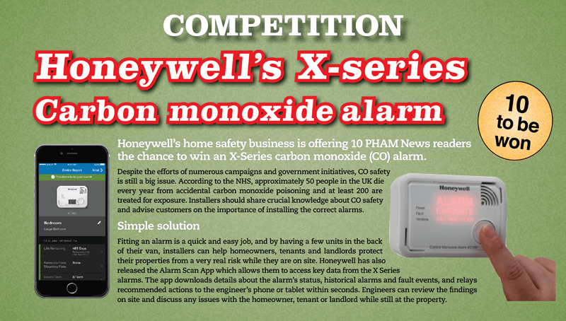 COMPETITION: Win Honeywell's advanced CO alarm