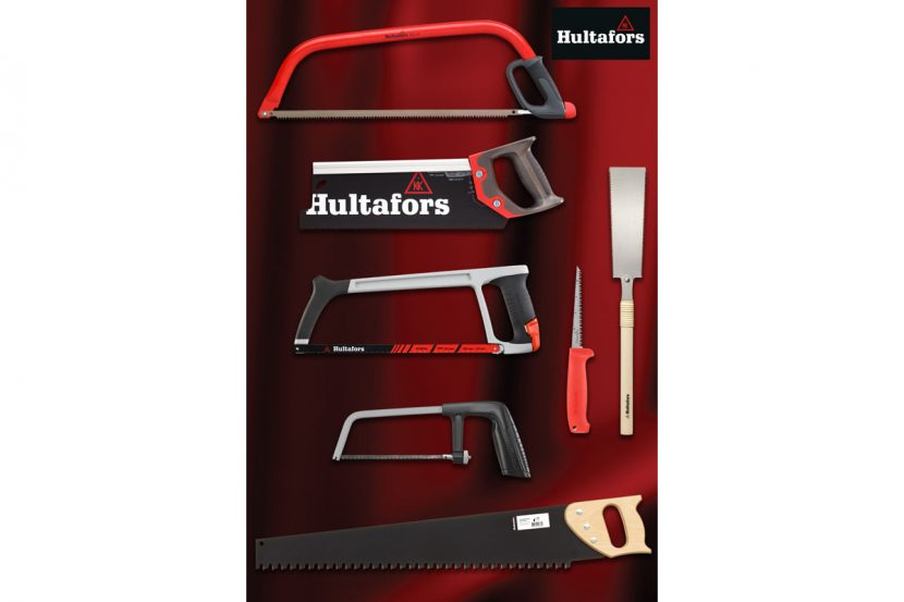 Precision cutting and control with Hultafors' hand saws