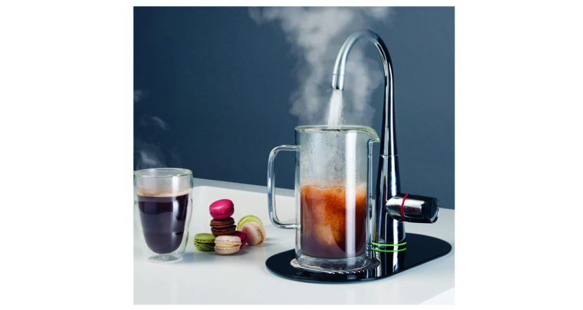 Boiling water tap adds a bit of Zen to the kitchen