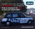 Black cab campaign gives L2S vouchers