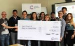 Big donation to Cancer Research UK