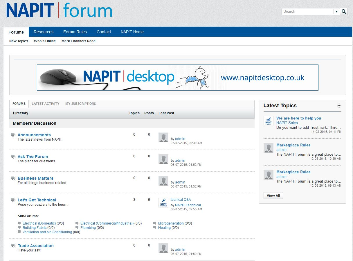 New NAPIT Forum Is An Online Community