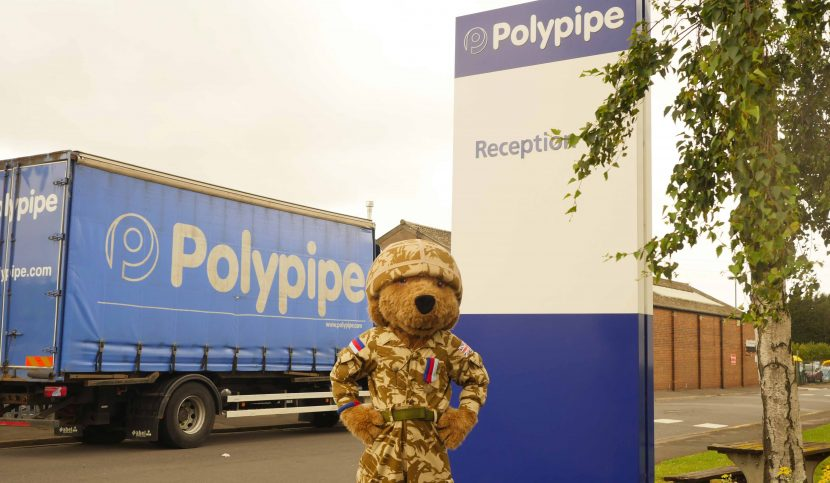 Polypipe pledges support for Help for Heroes