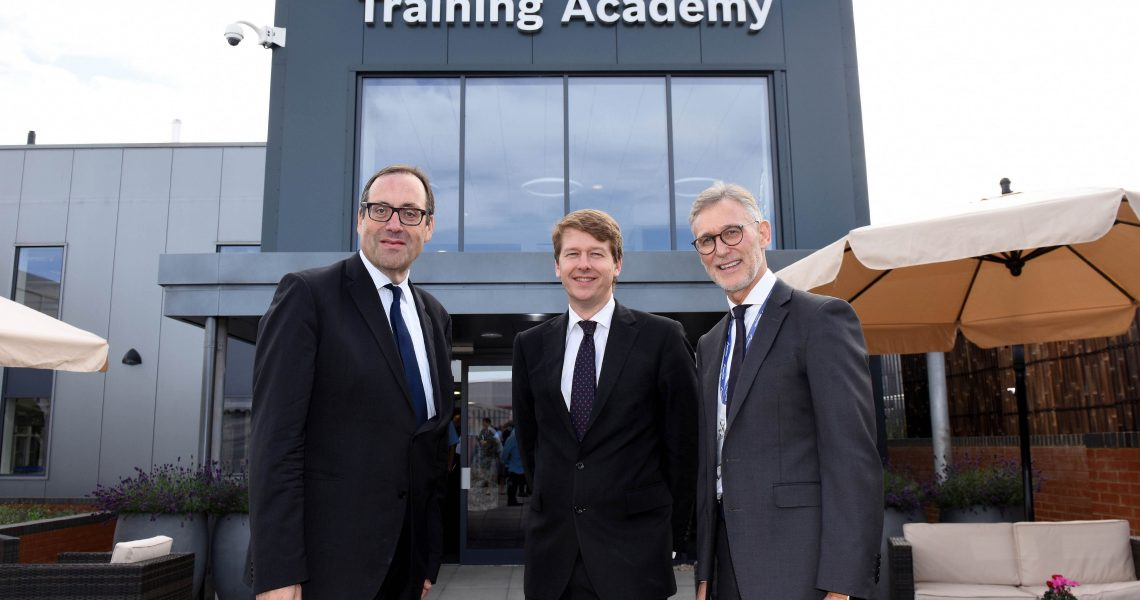 Worcester unveils new flagship training academy