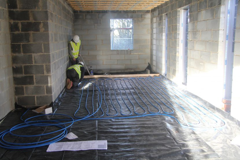 UFH system donated to former Royal Marine