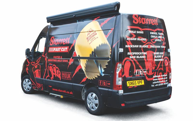 Starrett van set to hit the road