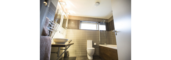 Fuss-free way to fit bathroom fans