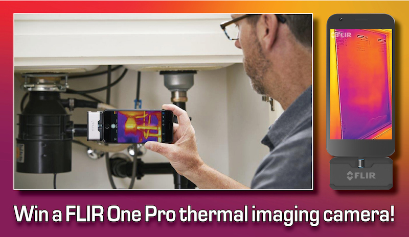 COMPETITION: Win a FLIR One thermal imager