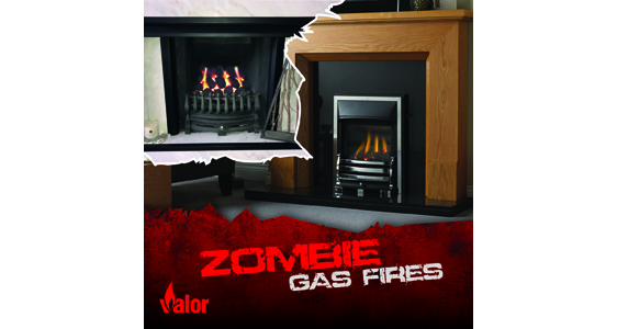 'Zombie' gas fires could win a zombie experience
