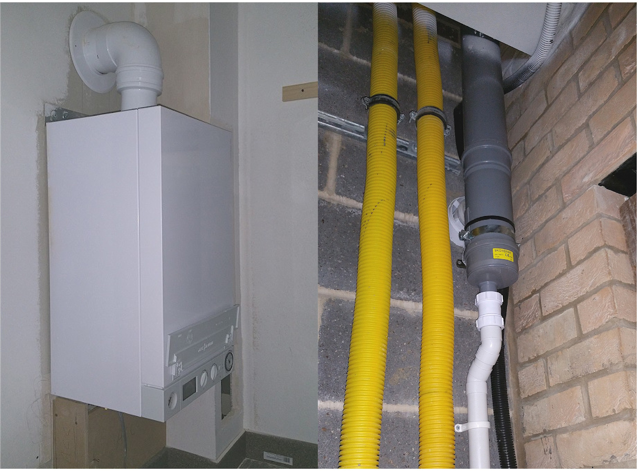 Combined Flue System Connects 44 London Flats
