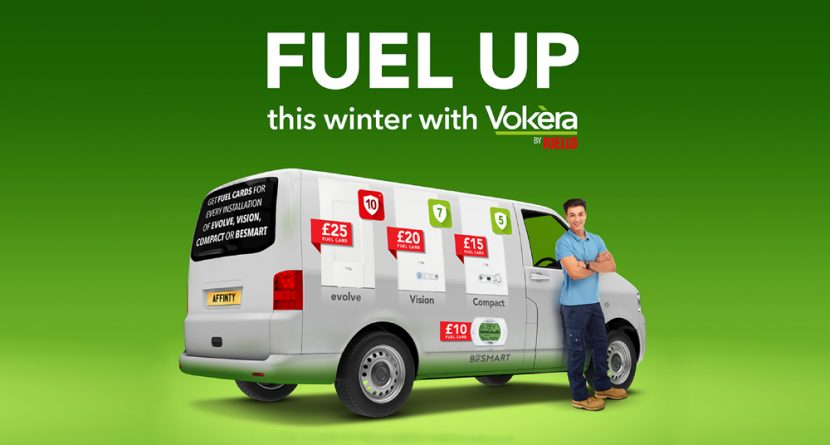 Earn fuel cards with boiler installs