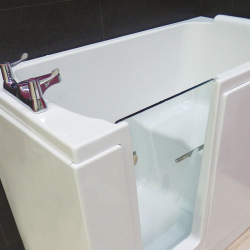 Baths with easier access