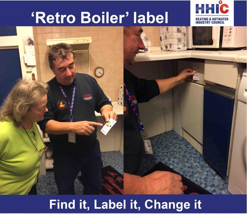 Retrospective Boiler Labelling: a voluntary conversation starter