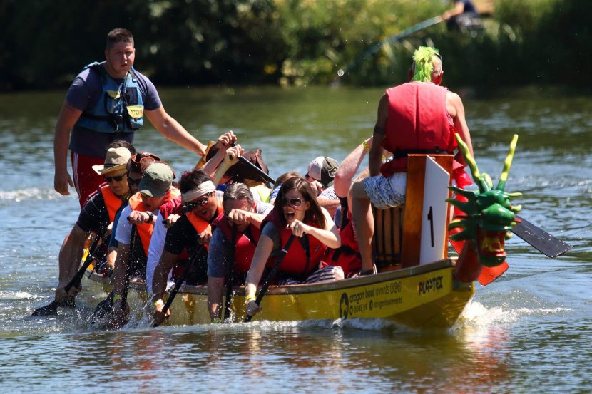 Dragon boat challenge helps wishes come true