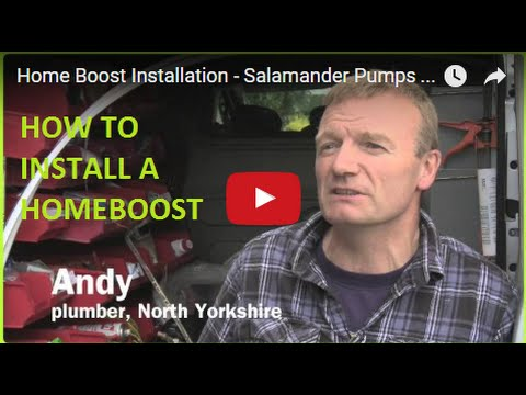 Salamander Home Boost installation