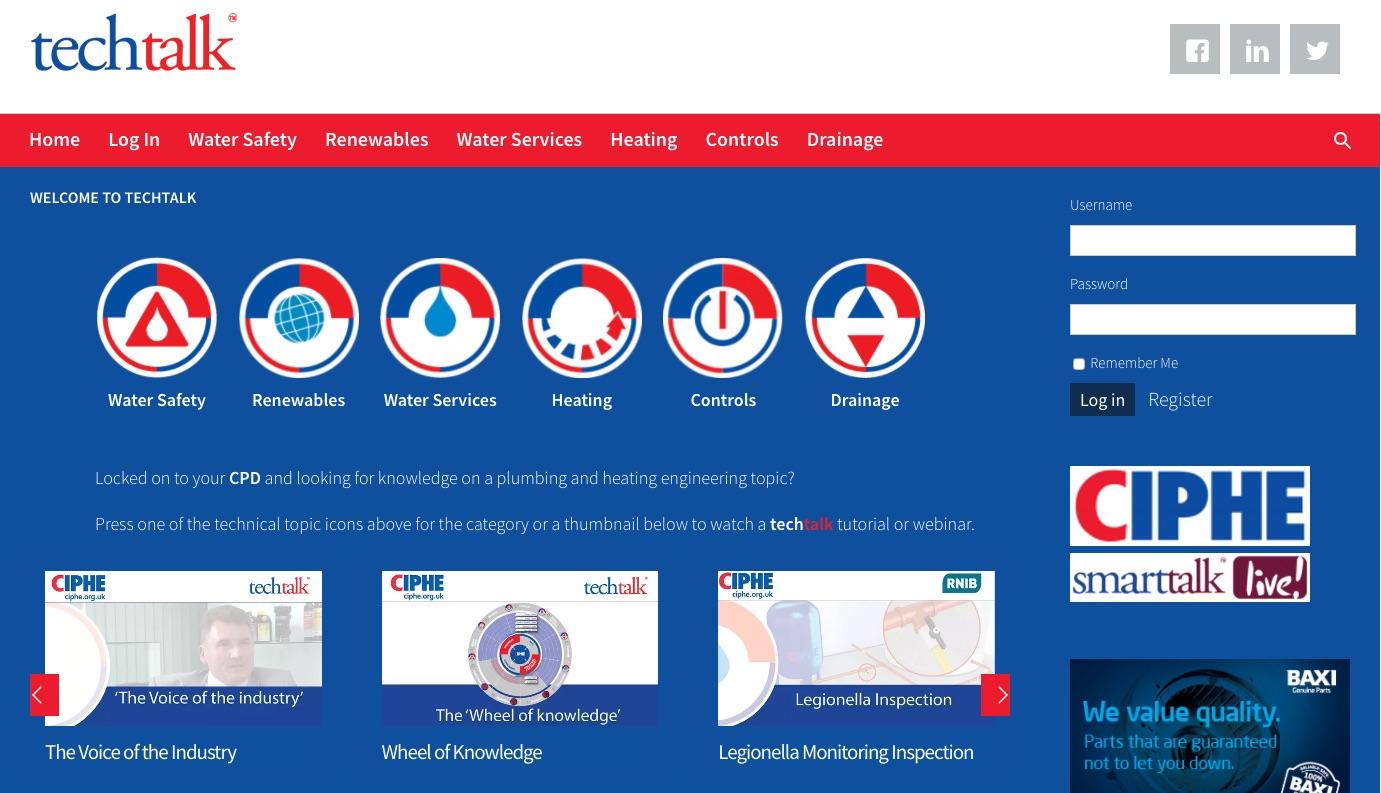plumbing websites