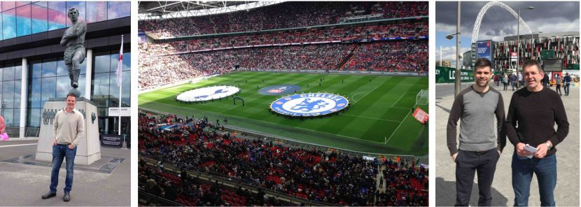 Readers enjoy Wembley experience