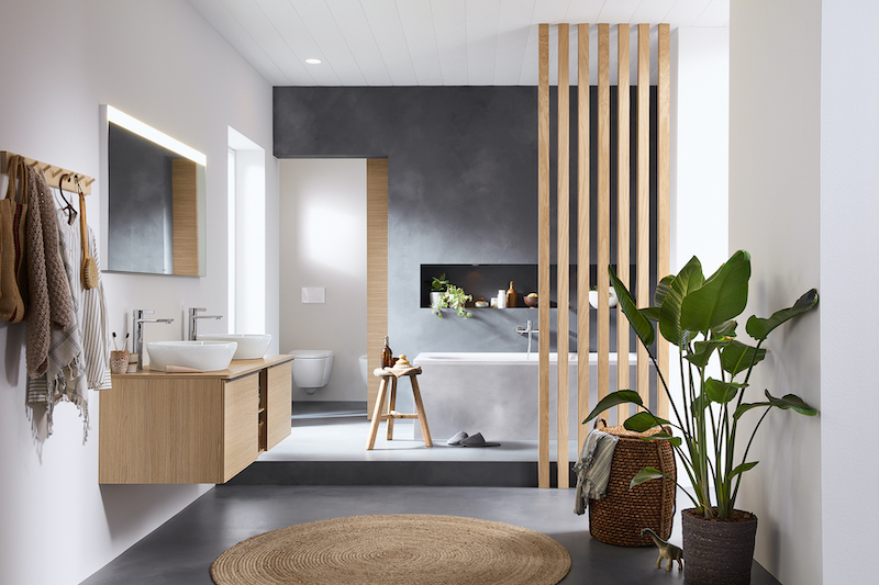 D-Neo collection offers something for every element in the bathroom