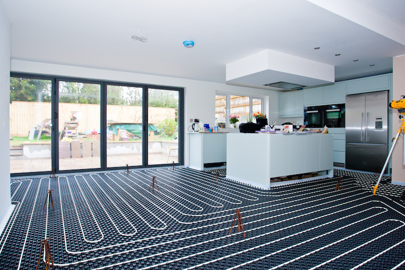UFH: perfect partner for renewables