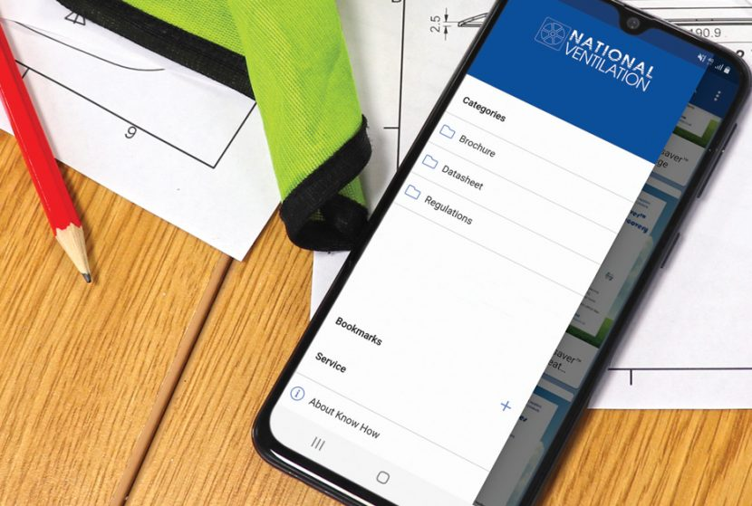 National Ventilation Launches Handy 'Know How' App
