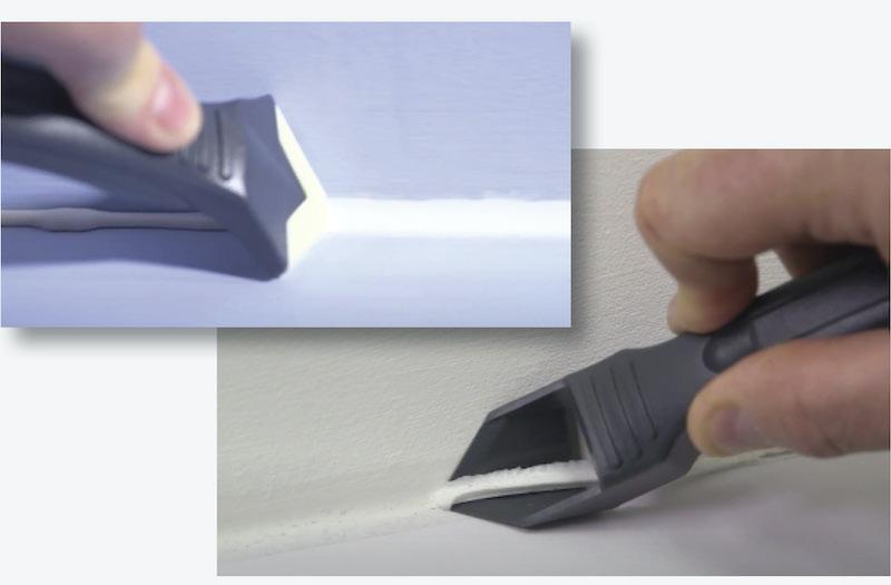Sealant tool kit for professional finish