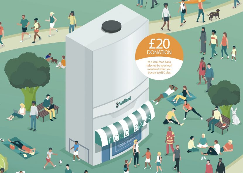 Boiler promotion supports local communities