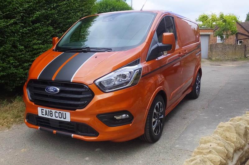 Van test: Ford Custom Sport 310S