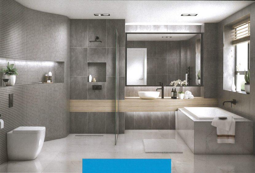 Marmox's detailed bathroom brochure