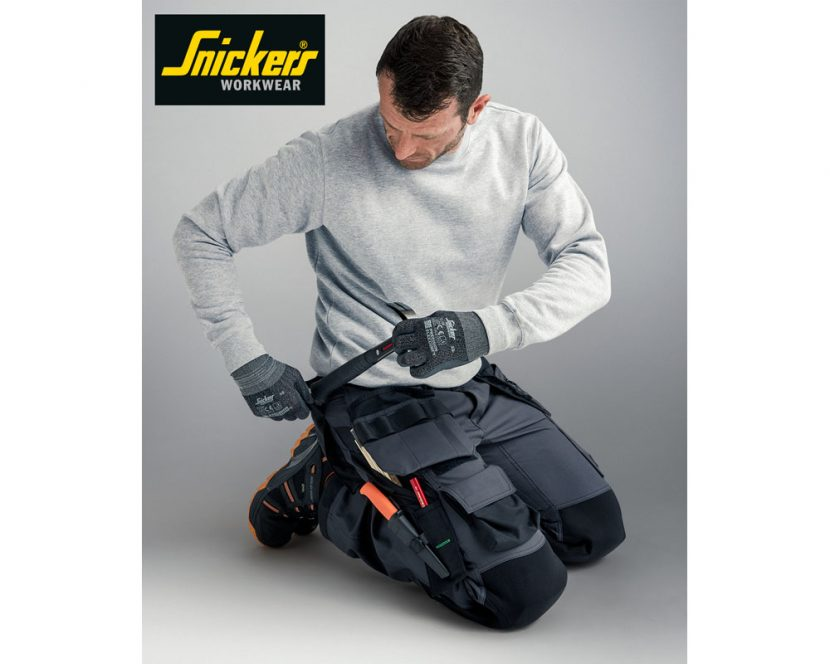 Floorlayers work trousers for working on your knees