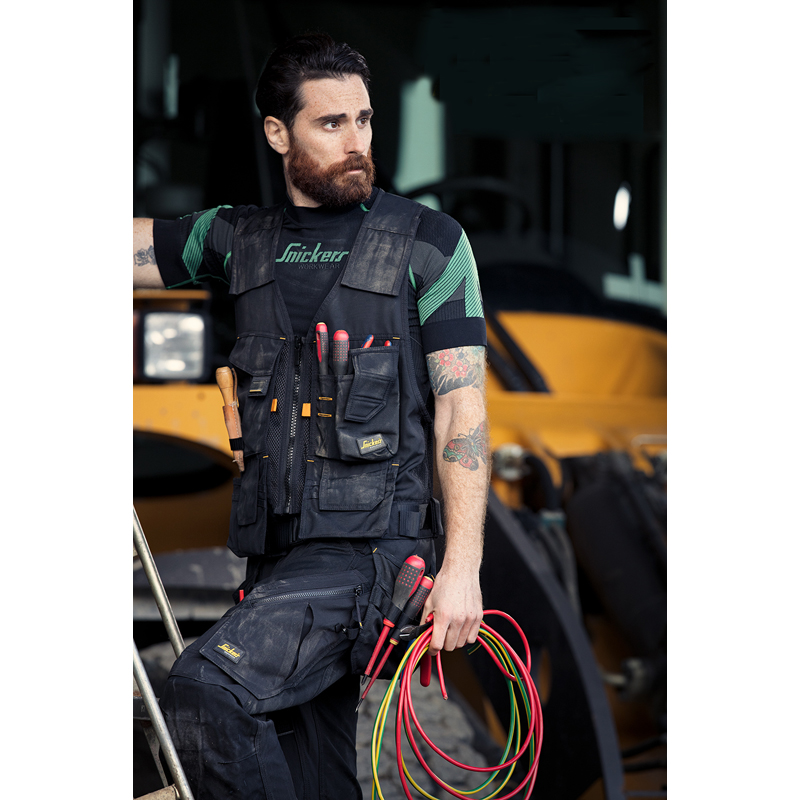 Tool vest carry-all