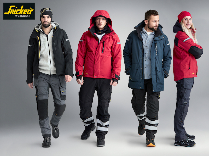 Winter jackets from Snickers