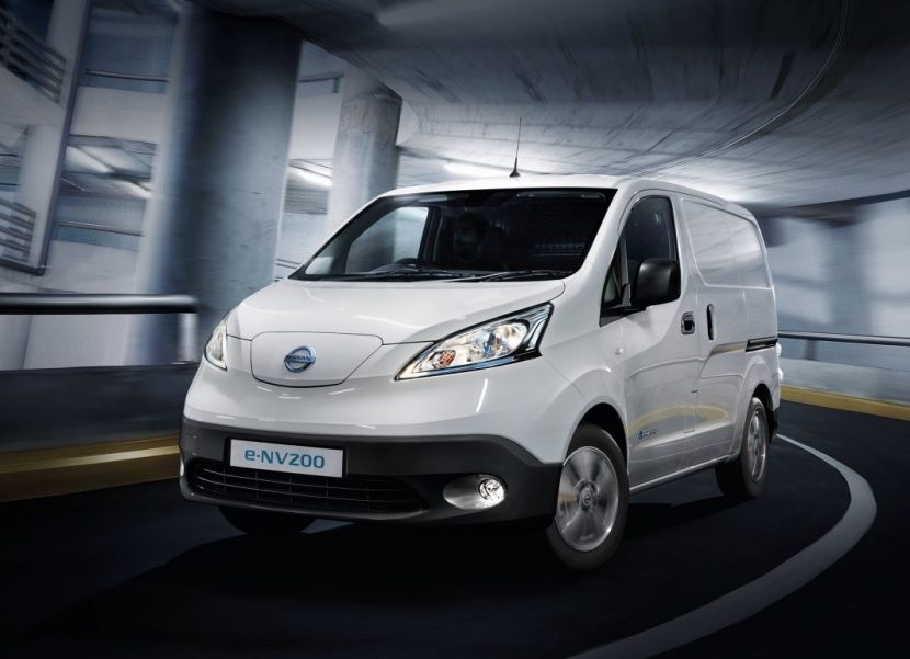 Chance to win a new Nissan electric van