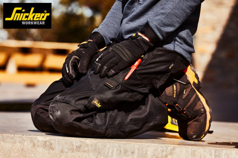 Stride out in the All-NEW Work Trousers from Snickers Workwear