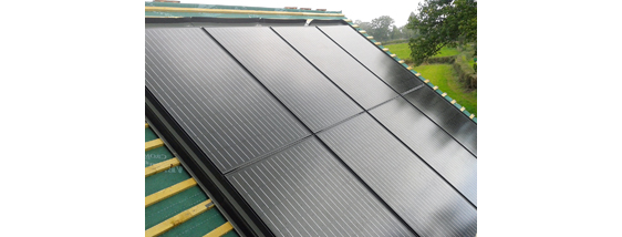 Affordable roof integrated solar system
