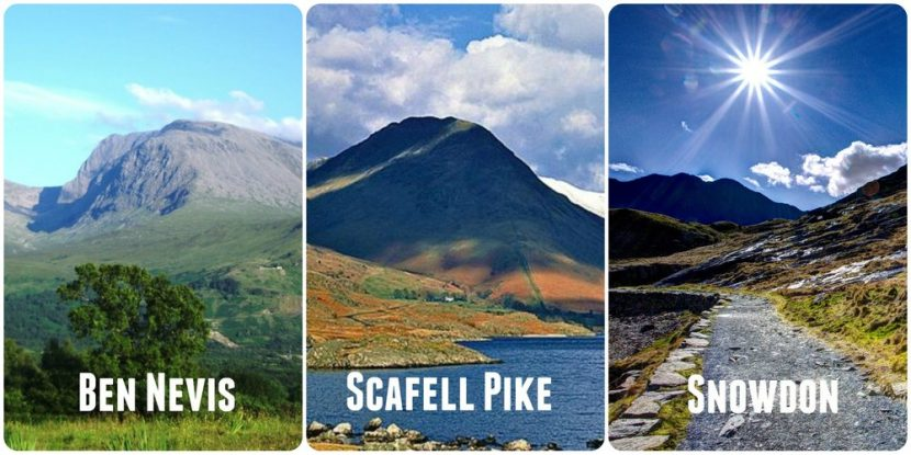 Tackling three peaks for charity