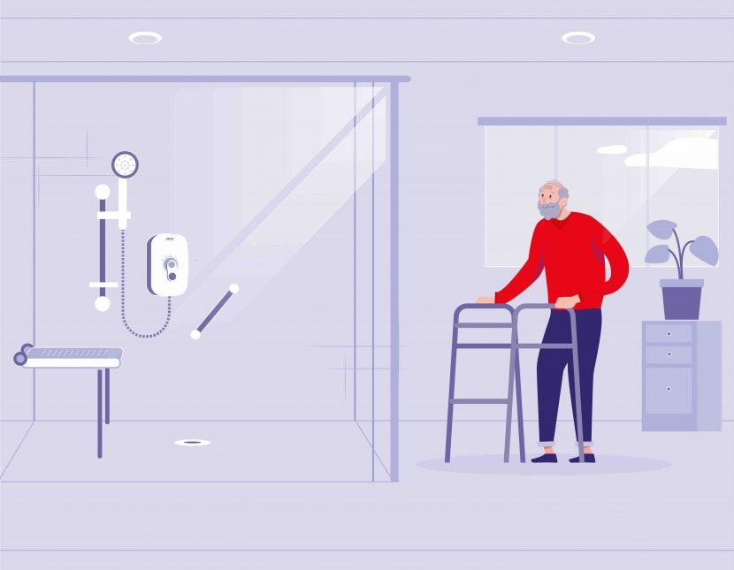 How to design a dementia-friendly bathroom