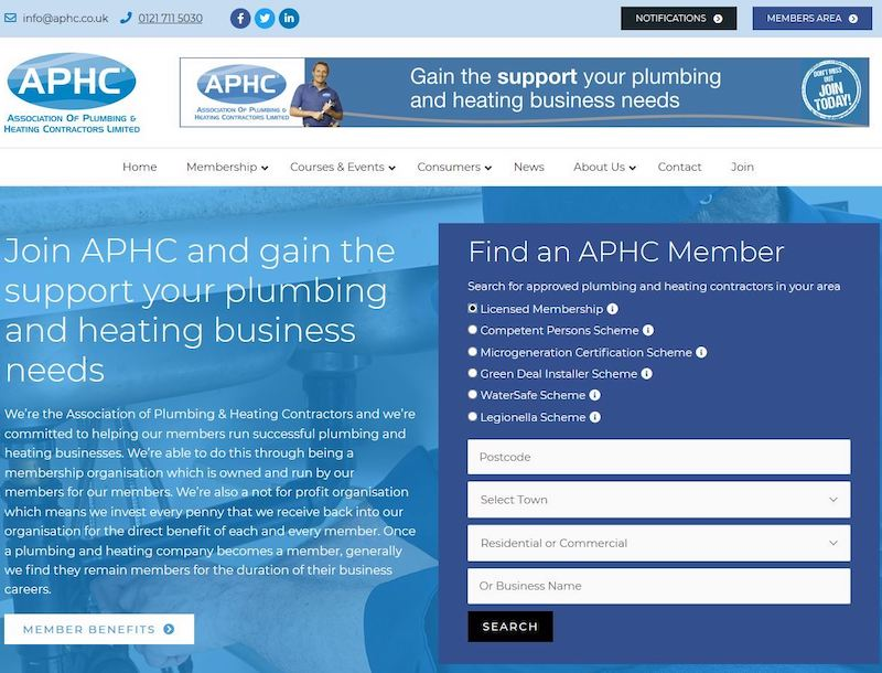 APHC launches new website